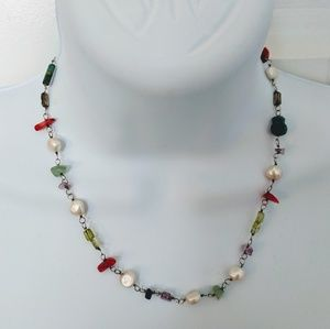 Silpada Retired Gemstone Necklace